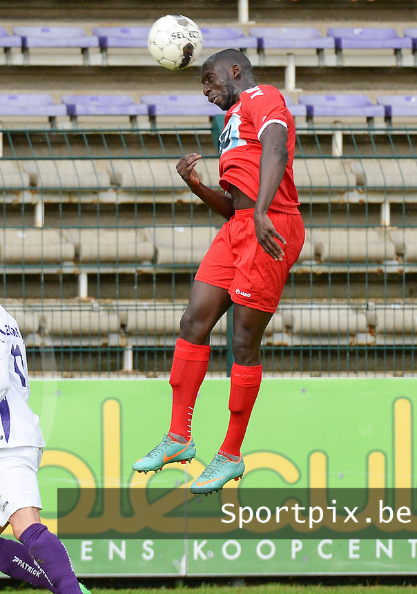 KV Kortrijk : Alassane Tambe <br /> foto VDB / BART VANDENBROUCKE