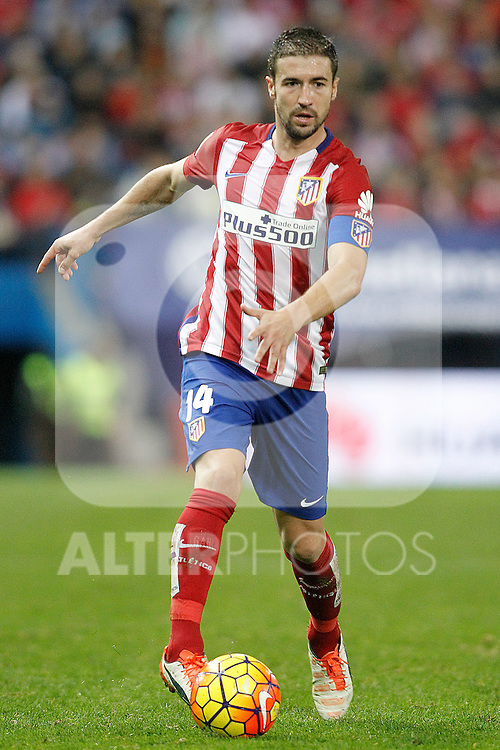 Atletico de Madrid's Gabi Fernandez during La Liga match. November 8,2015. (ALTERPHOTOS/Acero)