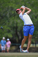 Carlota Ciganda (ESP) watches her tee shot on 2 during round 4 of the 2019 US Women's Open, Charleston Country Club, Charleston, South Carolina,  USA. 6/2/2019.<br /> Picture: Golffile | Ken Murray<br /> <br /> All photo usage must carry mandatory copyright credit (© Golffile | Ken Murray)