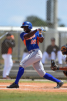 New York Mets Darryl Knight (22) during a minor league spring training game against the Miami Marlins on March 30, 2015 at the Roger Dean Complex in Jupiter, Florida.  (Mike Janes/Four Seam Images)