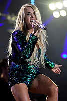 08 June 2018 - Nashville, Tennessee - Carrie Underwood. 2018 CMA Music Fest Nightly Concert held at Nissan Stadium. <br /> CAP/ADM/DMF<br /> &copy;DMF/ADM/Capital Pictures