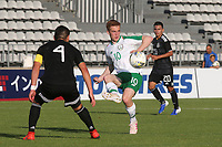 Connor Ronan of Republic of Ireland in action during Republic Of Ireland Under-21 vs Mexico Under-21, Tournoi Maurice Revello Football at Stade Parsemain on 6th June 2019