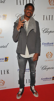Chuba Akpom at the Lux Afrique gala dinner, Claridge's Hotel, Brook Street, London, England, UK, on Sunday 01 October 2017.<br /> CAP/CAN<br /> &copy;CAN/Capital Pictures