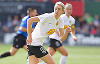 Portland, Oregon - Sunday October 2, 2016: Western New York Flash defender Alanna Kennedy (8) during a semi final match of the National Women's Soccer League (NWSL) at Providence Park.
