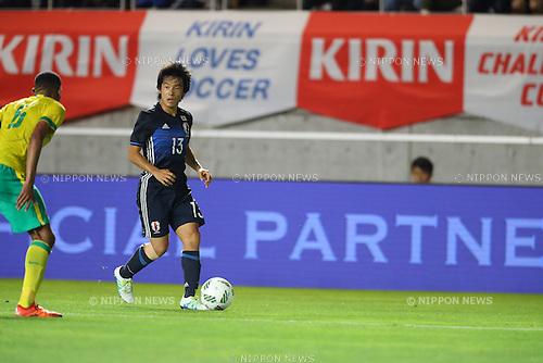 Shoya Nakajima (JPN),<br /> JUNE 29, 2016 - Football / Soccer :<br /> Kirin Challenge Cup 2016 match between U-23 Japan 4-1 U-23 South Africa at Matsumotodaira Park Stadium Alwin in Nagano, Japan. (Photo by Kenzaburo Matsuoka/AFLO)