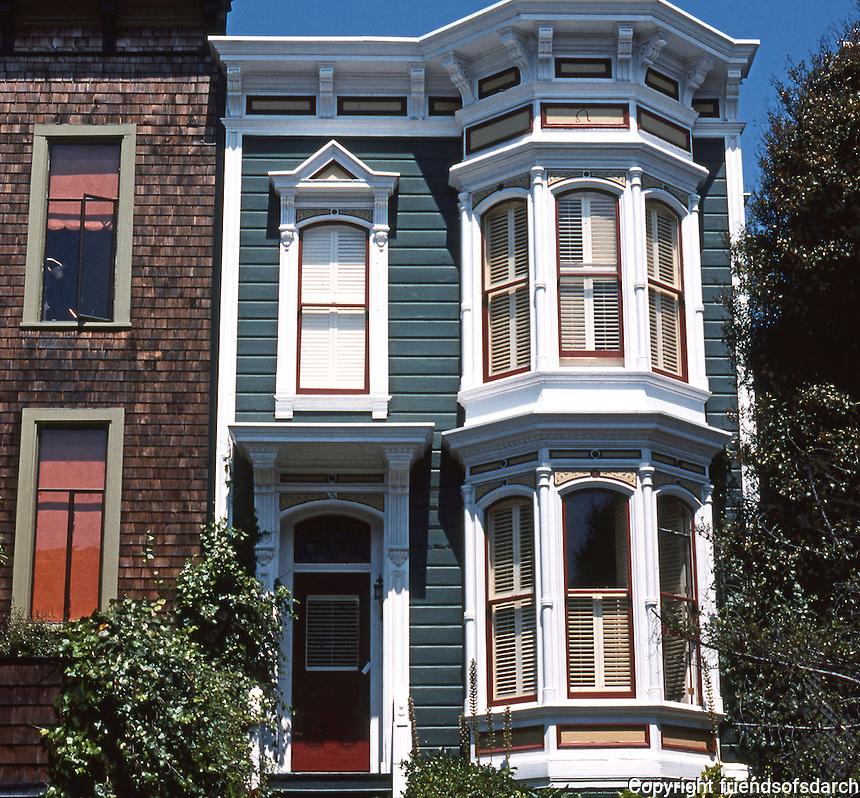 San Francisco: Row House, Sacramento Street (?)  Photo '78.
