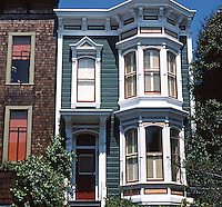 San Francisco: Row House, Sacramento Street (?)  Photo '78.