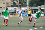 USRC (in green) vs Discovery Bay (in white) during their Masters Tournament match, part of the HKFC Citi Soccer Sevens 2017 on 27 May 2017 at the Hong Kong Football Club, Hong Kong, China. Photo by Marcio Rodrigo Machado / Power Sport Images