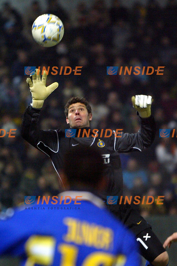 Parma 10/1/2004<br /> Parma Inter 1-0<br /> Francesco Toldo (Inter)<br /> Photo Andrea Staccioli Insidefoto