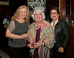Cheshire, CT- 111117MK14 (from left) Tracy and Joanne Peters with Patty Hartmann gathered during the Ball and Socket Arts launch of their Bricks and Glass $2 million capital campaign at the Waverly Inn in Cheshire on Saturday night Michael Kabelka / Republican-American