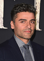 "WESTWOOD, CA - FEBURARY 13:  Oscar Isaac at the Los Angeles premiere of ""Annihilation"" at the Regency Village Theatre on February 13, 2018 in Westwood, California. (Photo by Scott Kirkland/PictureGroup)"