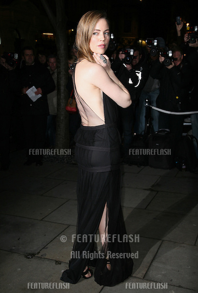 Melissa George arriving for the English National Ballet Christmas showing of The Nutcracker, at The Coliseum Theatre, London. 14/12/2011 Picture by: Alexandra Glen / Featureflash