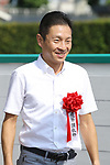 Koichi Tsunoda, AUGUST 19, 2018 - Horse Racing : Trainer Koichi Tsunoda after Ares Barows won the TV Nishinippon Corp.Sho Kitakyushu Kinen at Kokura Racecourse in Fukuoka, Japan. (Photo by Eiichi Yamane/AFLO)