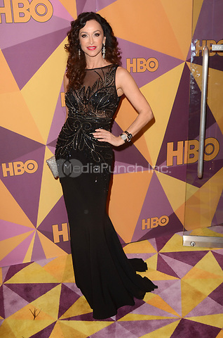 BEVERLY HILLS, CA - JANUARY 7: Sofia Milos at the HBO Golden Globes After Party, Beverly Hilton, Beverly Hills, California on January 7, 2018. Credit: <br /> David Edwards/MediaPunch