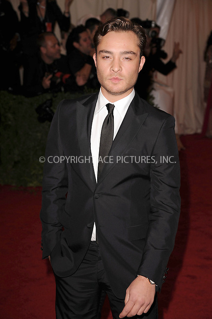 "WWW.ACEPIXS.COM . . . . . .May 7, 2012...New York City.....Ed Westwick attending the ""Schiaparelli and Prada: Impossible Conversations"" Costume Institute Gala at The Metropolitan Museum of Art in New York City on May 7, 2012  in New York City ....Please byline: KRISTIN CALLAHAN - ACEPIXS.COM.. . . . . . ..Ace Pictures, Inc: ..tel: (212) 243 8787 or (646) 769 0430..e-mail: info@acepixs.com..web: http://www.acepixs.com ."