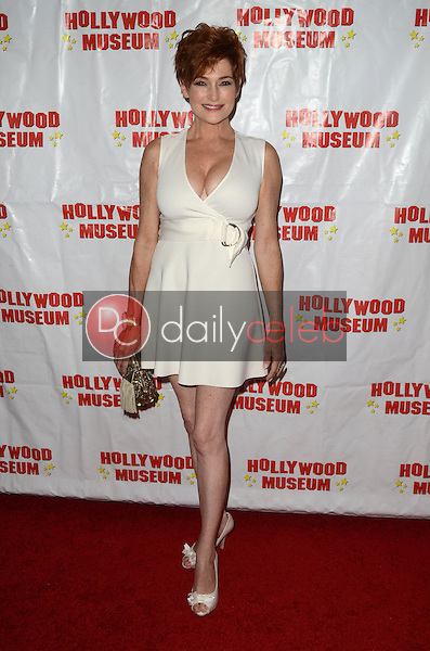"Carolyn Hennesy at ""Child Stars - Then and Now"" Exhibit Opening at the Hollywood Museum in Hollywood, CA on August 19, 2016. (Photo by David Edwards)"