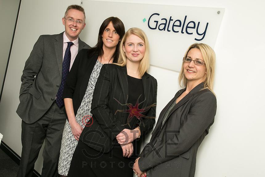Pictured left to right is Scott McKittrick, Jenny Colver, Melissa Chantrill and Su Garner