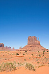 U.S.A., Arizona, Monument Valley, Navajo Tribal Park, red rock, American, desert landscape, Highway 163,