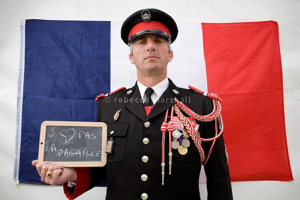 Eric, Compagne des Carabiniers du Prince de Monaco, Saturday 8th May 2010