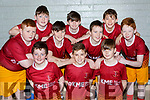 The  St Josephs team that played Rathmore Ravens  in the u12 boys cup final in Killarney on Sunday front row l-r: JD Cotter, Daragh O'Keeffe, Luke Collins. Back row: Mikey Kelly, Aaron Carey, Ben Carey, Aaron Kennelly, Luke Sheridan, Mike Galvin