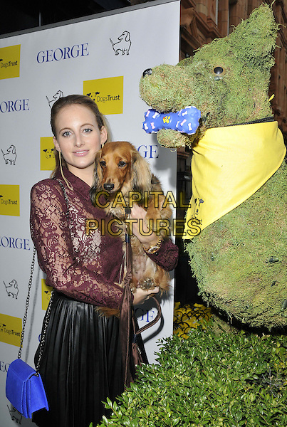LONDON, ENGLAND - SEPTEMBER 09: Rosie Fortescue attends the &quot;A Date With Your Dog in Honour of Clarissa Baldwin OBE&quot; Dog's Trust party, George Club, Mount St., on Tuesday September 09, 2014 in London, England, UK. <br /> CAP/CAN<br /> &copy;Can Nguyen/Capital Pictures