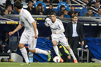 24.03.2012 SPAIN -  La Liga matchday 30th  match played between Real Madrid CF vs Real Sociedad (5-1) at Santiago Bernabeu stadium. The picture show Cristiano Ronaldo (Portuguese forward of Real Madrid)