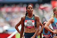 Shelayna Oskan-Clarke of Great Britain competes in the womenís 800 metres during the Muller Anniversary Games at The London Stadium on 9th July 2017