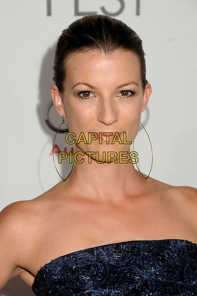 "JAALA PICKERING.AFI Fest 2010 Closing Night Gala Screening of ""Black Swan"" held at Grauman's Chinese Theatre, Hollywood, California, USA..November 11th, 2010.headshot portrait back strapless gold hoop earrings.CAP/ADM/BP.©Byron Purvis/AdMedia/Capital Pictures."