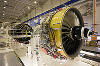 Rolls Royce jet engine production factory, Derbyshire, United Kingdom