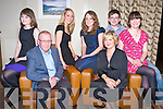 Pat O'Donoghue, Urban Optics, Killarney, pictured as he celebrated winning the UK and Ireland family optician of the year 2011 in the Brehon Hotel, Killarney on Saturday night with Helen, Jane, Ciara, Elaine, Paddy and Barbara O'Donoghue. Elaine is also leaving for Malawi at the end of January for one year.
