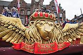Düsseldorf, Deutschland. 27 February 2017. Carnival parade on Shrove Monday (Rosenmontag) in Düsseldorf, North Rhine-Westphalia, Germany.