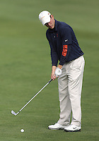 22 May, 2010:   Illinois Chris DeForest sets up to chip his ball on the green on hole three during day three of the NCAA West Regional First Round at Gold Mountain Golf Course in Bremerton, Washington.
