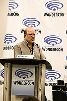 Mark Waid at Wondercon in Anaheim Ca. March 31, 2019