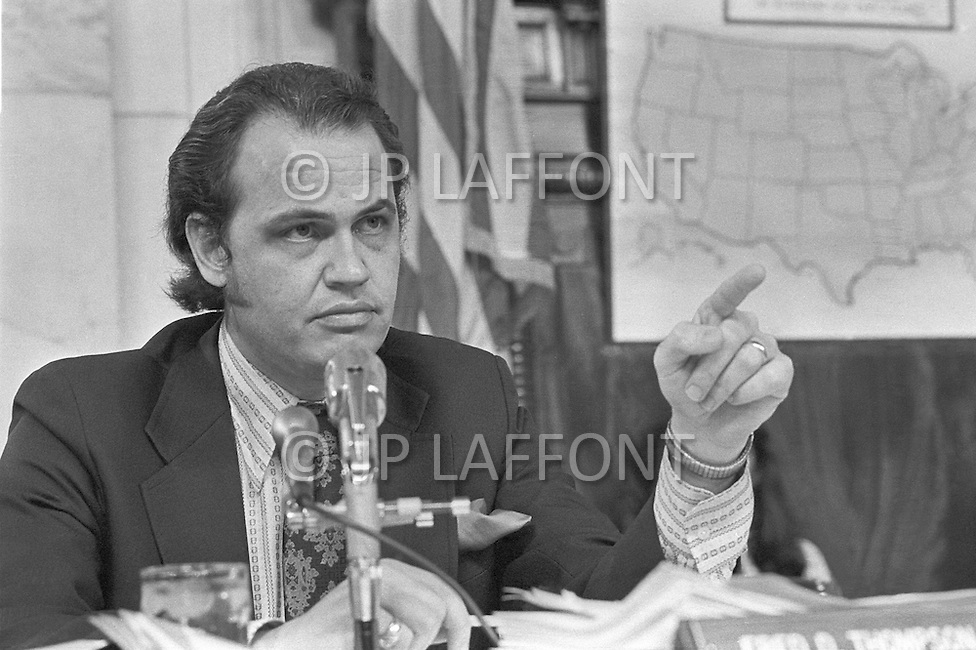 Fred Thompson - A break in at the Democratic National Committee headquarters at the Watergate complex on June 17, 1972 results in one of the biggest political scandals the US government has ever seen.  Effects of the scandal ultimately led to the resignation of  President Richard Nixon, on August 9, 1974, the first and only resignation of any U.S. President.