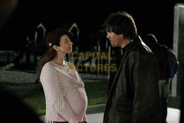 TRACI LORDS & PAUL JOHANSSON.in Novel Romance .**Editorial Use Only**.CAP/FB.Supplied by Capital Pictures