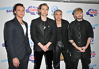 5 Seconds of Summer (Aston Irwin, Luke Hemmings, Calum Hood and Michael Clifford) at the Capital FM Summertime Ball 2019, Wembley Stadium, Wembley, London, England, UK, on Saturday 08th June 2019.<br /> CAP/CAN<br /> ©CAN/Capital Pictures