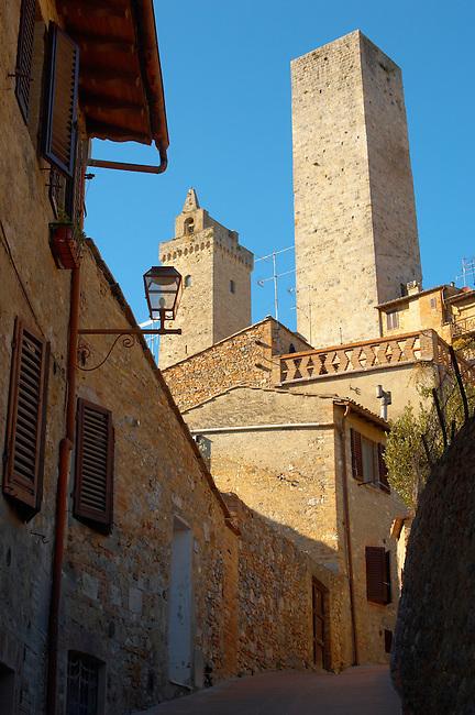 Medieval Towers- San Gimignano - Italy
