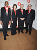 Ashley Bryan, Nora Ephron, Edward Albee and Salman Rushdie..arriving at The New York Public Library 2008 Library Lions Benefit Gala on November 3, 2008 at The New York Public Library at 42nd Street and 5th Avenue.....Robin Platzer, Twin Images