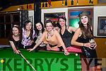 Magda Stawowy, Kasia Kalinowska, Beata Witek, Monika Draczynska, Magda Choroszewska & Isabella Dyczynska from Killorglin enjoy the Eighties Night in The Red Fox on Saturday.