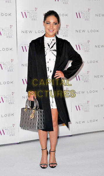 LONDON, ENGLAND - NOVEMBER 06: Louise Thompson at the New Look Winter Wishes Ball, Battersea Evolution, Battersea Park on November 6th, 2013 in London, England, UK.<br /> CAP/PP/GM<br /> &copy;Gary Mitchell/PP/Capital Pictures