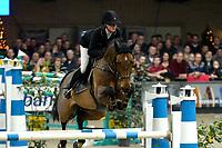 ZUIDBROEK - Paardensport, ICCH Zuidbroek, springen internationaal Grote Prijs , 05-01-2019, Kim Emmen met Eclips in de barrage