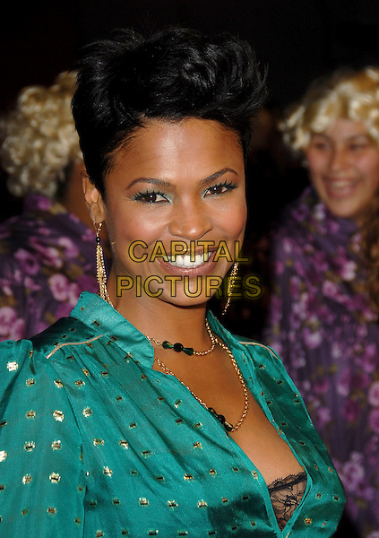 "NIA LONG & SON.World Premiere of ""Big Momma's House 2"" held at The Grauman's Chinese Theatre in Hollywood, California, USA..January 25th, 2006.Ref: DVS.headshot portrait.www.capitalpictures.com.sales@capitalpictures.com.Supplied By Capital PIctures"