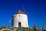 Traditional windmill, Vejer de la Frontera, Cadiz Province, Spain