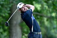 Bethesda, MD - July 1, 2018: Troy Merritt tee's off on the 8th hole during final round of professional play at the Quicken Loans National Tournament at TPC Potomac at Avenel Farm in Bethesda, MD.  (Photo by Phillip Peters/Media Images International)