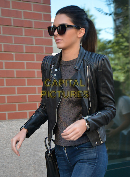 NEW YORK, NY - AUGUST 29: Kendall Jenner walks to dinner in Soho in New York, New York on August 29, 2014. <br /> CAP/MPI67<br /> &copy;MPI67I/Capital Pictures