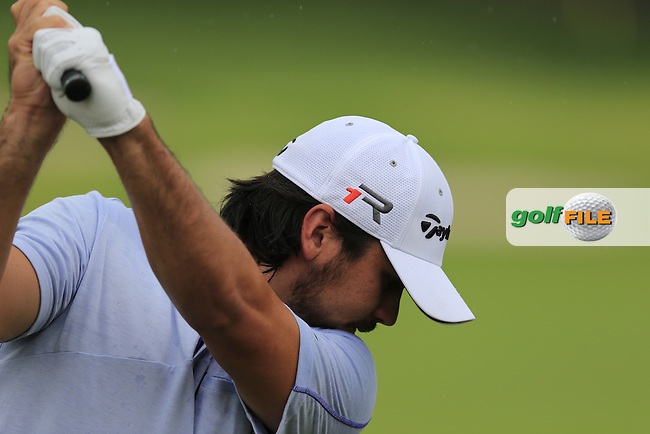 Jason Day (AUS) on the driving range during Wednesday's Practice Day of the 2013 Bridgestone Invitational WGC tournament held at the Firestone Country Club, Akron, Ohio. 31st July 2013.<br /> Picture: Eoin Clarke www.golffile.ie