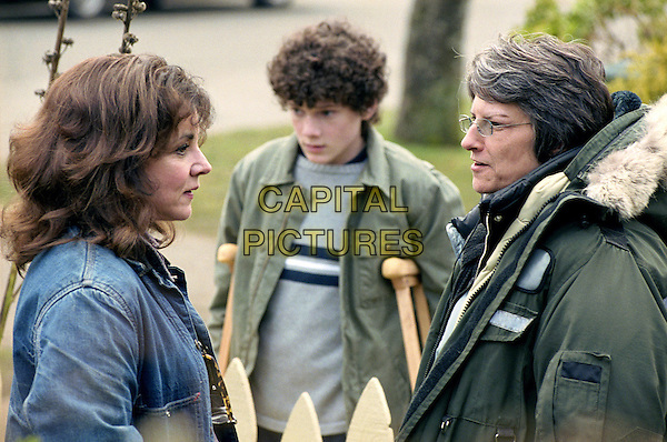 STOCKARD CHANNING, ANTON YELCHIN & LEE ROSE (DIRECTOR).in Jack.*Editorial Use Only*.www.capitalpictures.com.sales@capitalpictures.com.Supplied by Capital Pictures.