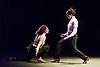 London, UK. 18.02.2018. Dramatist Pedro G. Romero and flamenco dancers Ursula López, Tamara López and Leonor Leal present Painter and Flamenco: J.R.T. as part of the Flamenco Festival London 2018 at Sadler's Wells Theatre, 18 Feb. Photo shows: Tamara López, Leonor Leal. Photo - © Foteini Christofilopoulou.