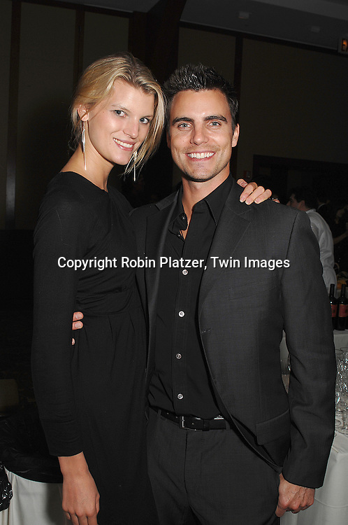 Colin Egglesfield and girlfriend Madeleine Blomberg..at The Feast with Famous Faces 2007 Gala benefitting..The League for the Hard of Hearing on October 22, 2007 at Pier Sixty at Chelsea Piers. ..Robin Platzer, Twin Images