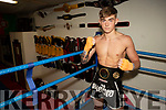 Dara O Sullivan, Kick boxer who is hoping to go pro as he is travelling to Dublin for a training camp.